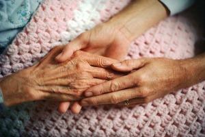 elderly-hand